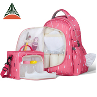 Fashion Multifunctional Adult Mummy Changing Nappy Backpack Baby Diaper Bag
