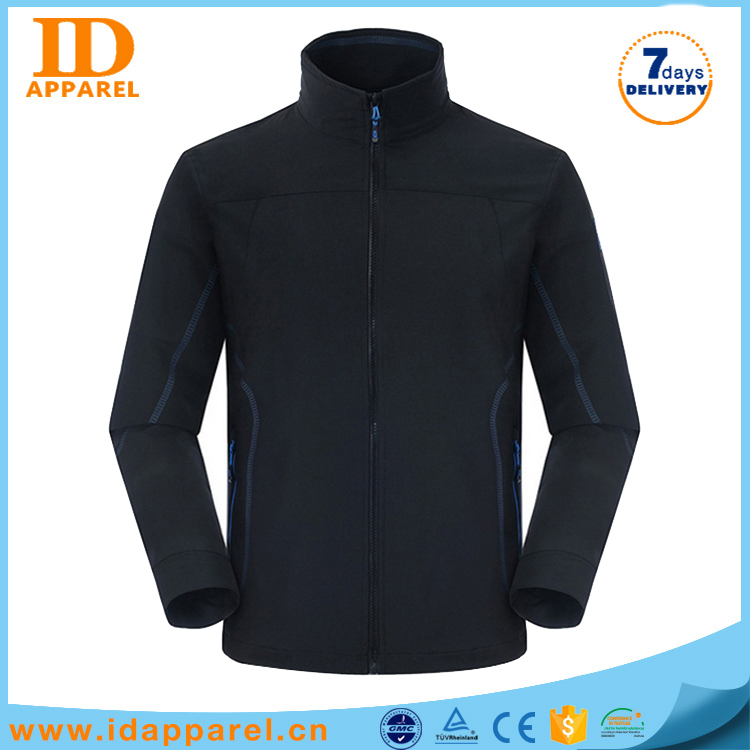 Oem brand mens waterproof softshell removable sleeve jacket without sleeves for men