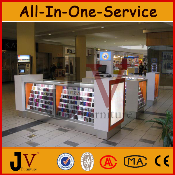 Factory Directly Mobile Phone Display Accessories Kiosk For Mobile