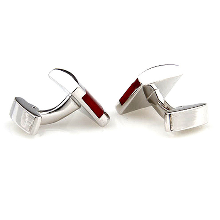 Wholesale Business Elite Inlay Glass Cuff Links