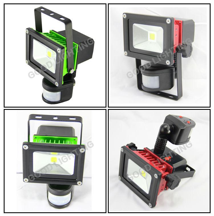Good Lighting 10w Solar Flood Light Led With Pir Motion Sensor,Led ...