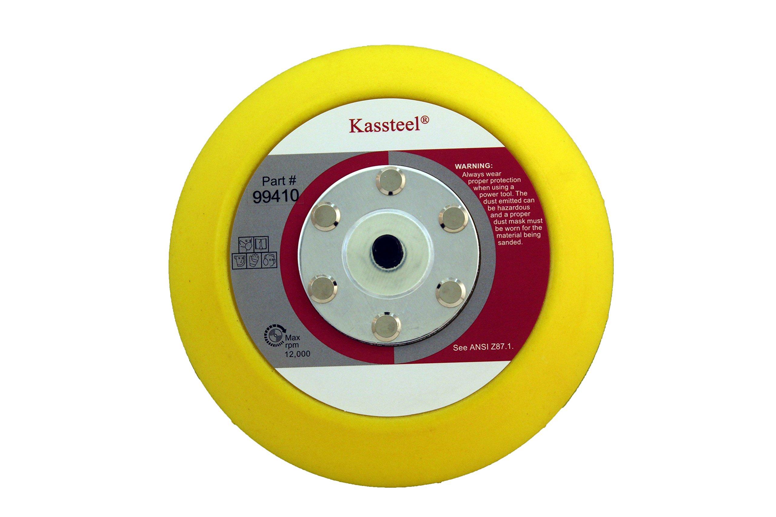 5//8-11 Thread 4-1//2 Diameter 4-1//2 Diameter Black 3M Disc Pad Hub 86100 Pack of 1