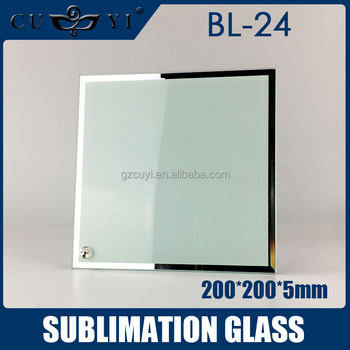 High Quality 3d Sublimation Blank Glass Photo Frame Bl-24 20*20*0.5 ...