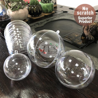 Dia40MM to 200MM round shape clear plastic balls and plastic crystal ball