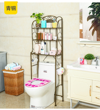 3 Shelves E Saving Bathroom Shelving Unit Over The Toilet Storage Rack