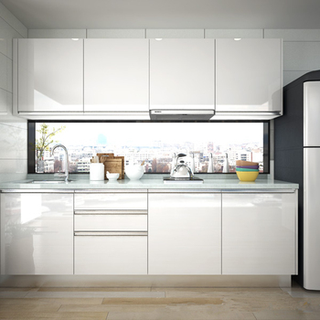 Modern Simple L-type High Gloss Kitchen Cabinet - Buy Kitchen Pantry  Units,Kitchen Cabinets Craigslist,Kitchen Cabinet Mdf Board Product on ...