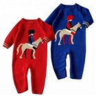 Wholesale Newborn Baby Girl and boy Long Sleeve One Piece Romper