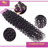 Trade assurance online pay available Top quality unprocessed virgin brazilian jerry curl hair weave