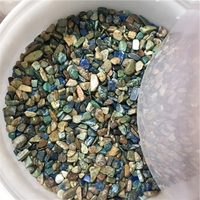 Wholesale Rough Fynchenite Gravel Chrysocolla Gemstones Crystal Tumbled Stones