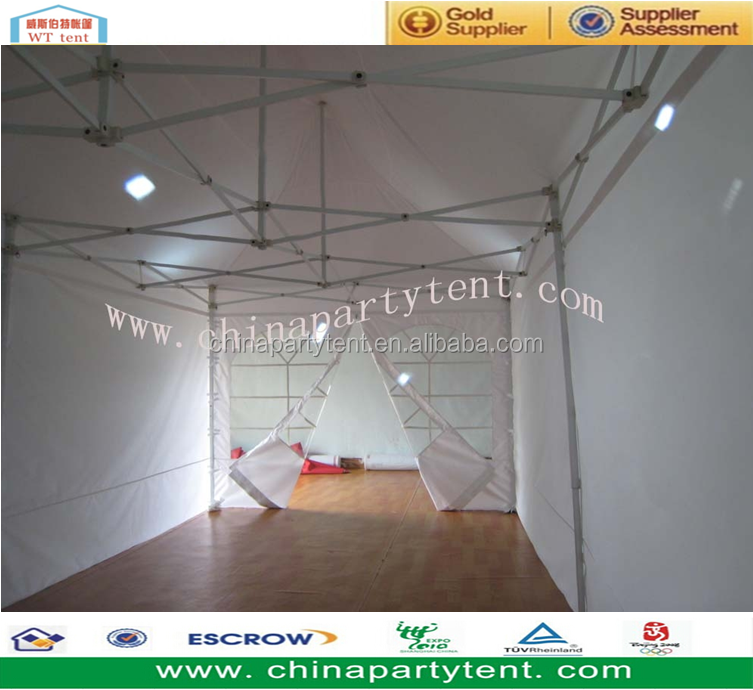 Customized White Portable Folding Gazebo Tent Canopy