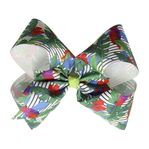 Boutique 2 Inch Pumpkin Hair Bows With Clip