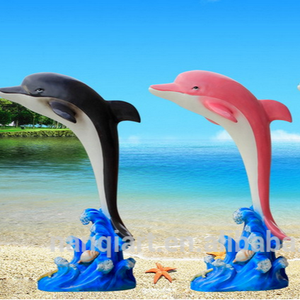 2018 Make Money Large Fiberglass Dolphin Sculptures For Sale