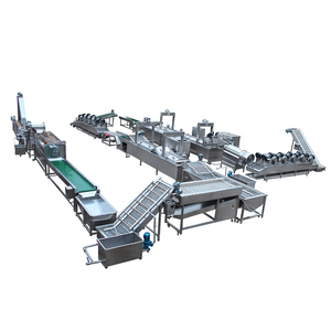 Professional Manufacturer Fully Automatic Potato Chips Production Line