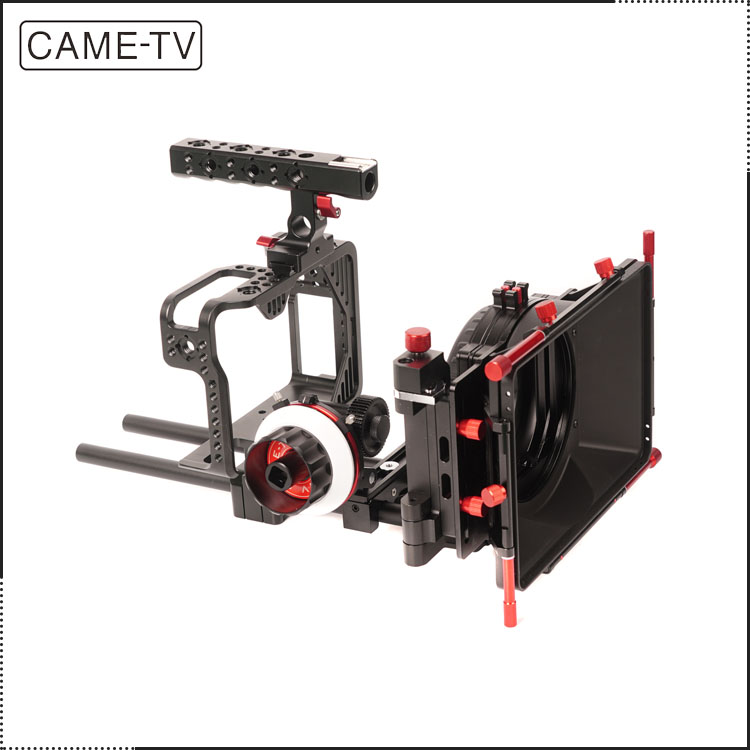 CAME-TV Protective Cage For Ca non 5D W Mattebox Follow Focus