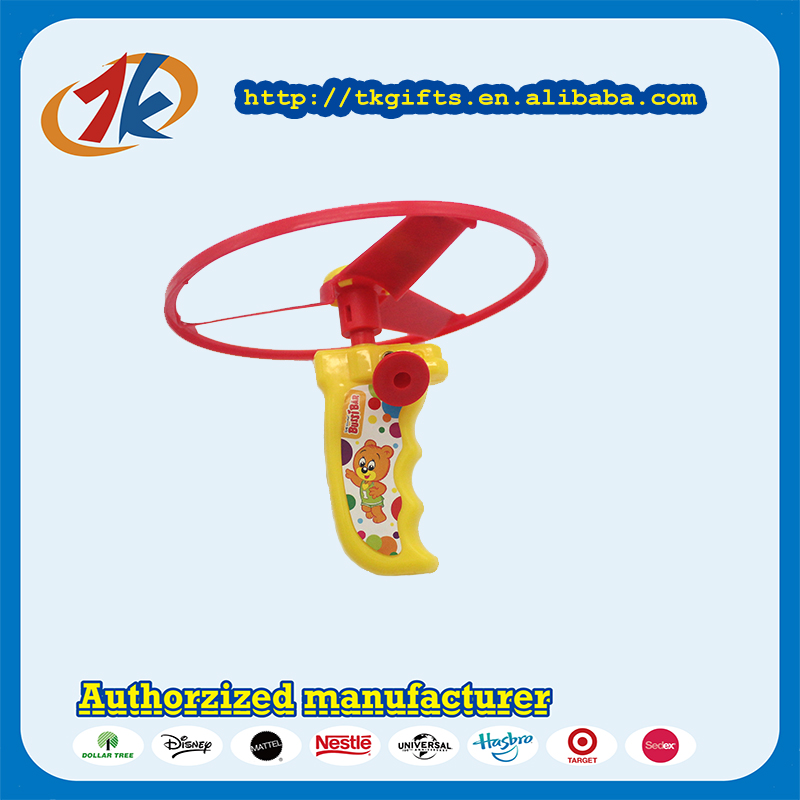 Outdoor Shooting Wind Up Plastic Flying saucer toys