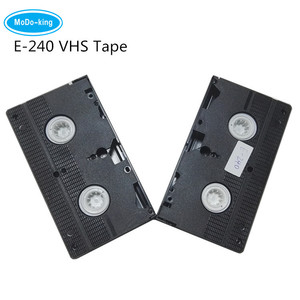 Shenzhen factory selling directly blank Video cassettes VHS tape Accept Free Sample