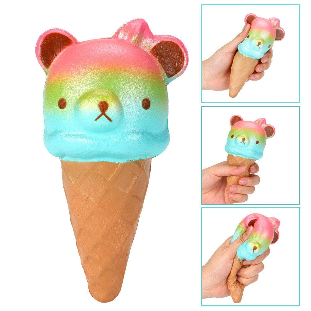 USHOT Clearance Squeeze Squishy Panda Ice Cream Slow Rising Cream Scented Decompression Toys
