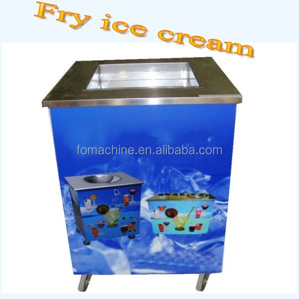 the most popular cold stone marble slab top fry ice cream machine