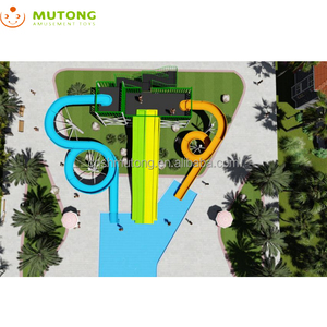 Water Park Aquatic Attractions For Municipal Swimming Pool