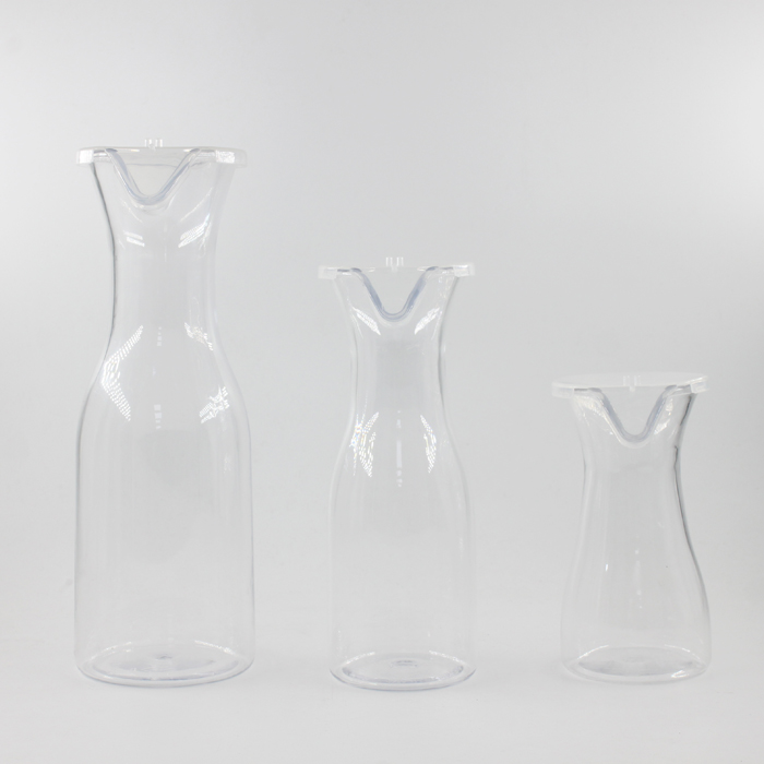 Plastic Juice Carafe Wine Decanters with lid