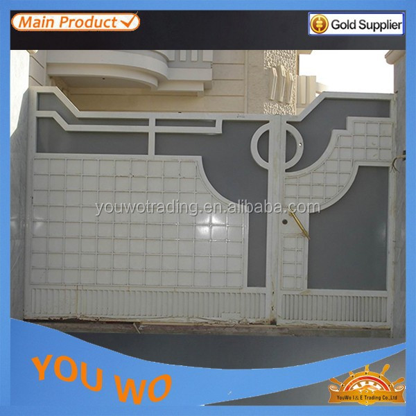 Security steel access gate 1000high for house site