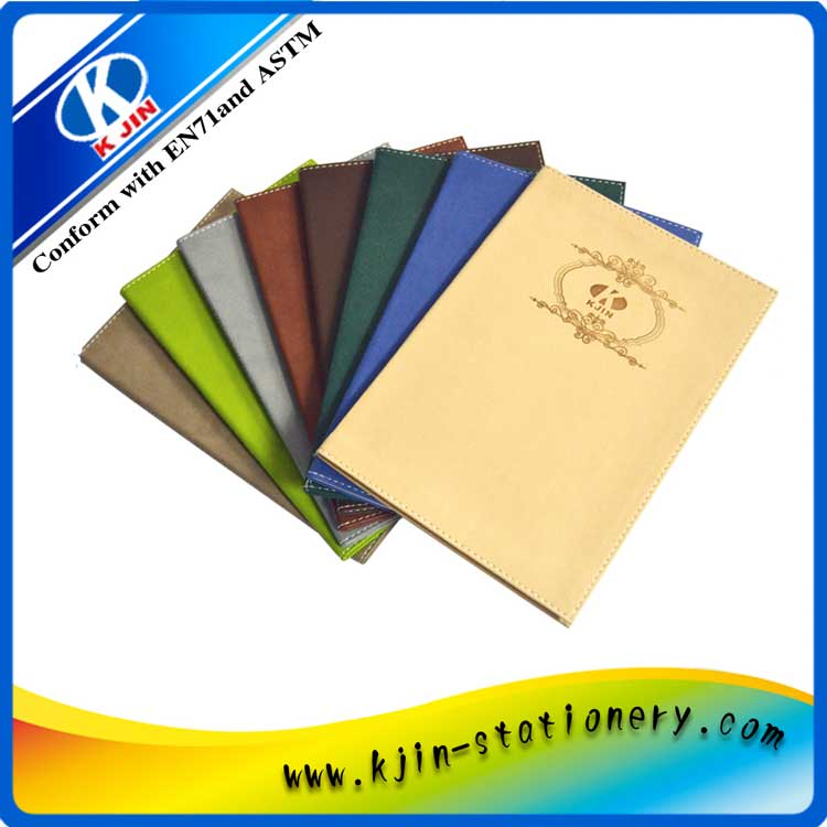 Hot Promotional customized cheap A5 PU notebooks for office supplies