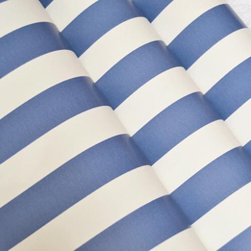 online kaufen gro handel blau und wei gestreifte tapete aus china blau und wei gestreifte. Black Bedroom Furniture Sets. Home Design Ideas