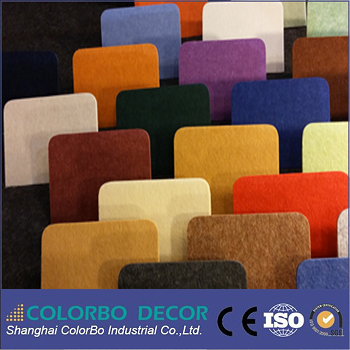 special building materials sound absorbtion PET panel