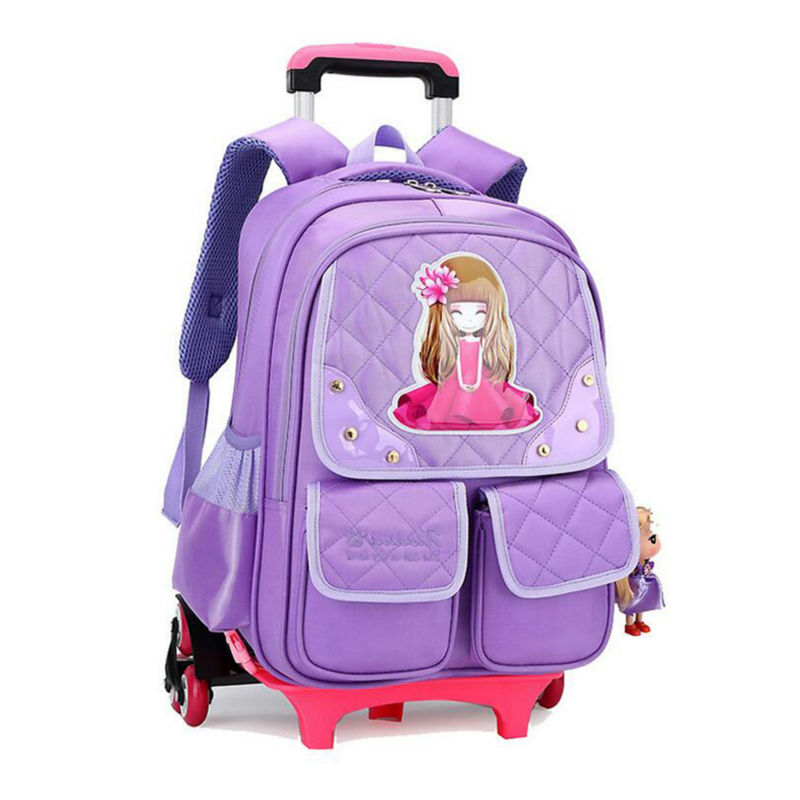School Bags with Wheels. invalid category id. School Bags with Wheels. Showing 48 of results that match your query. Search Product Result. Product - Coofit Collapsible 12 Inch Kids Rolling Backpack Bookbag with Wheels for Boys Girls School Student (Rosy) Reduced Price. Product Image.