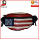 American Flag Waterproof Fanny Pack Waist Wallet Leather New