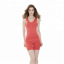 Wholesale Tummy control and Butt Lifter Nylon&Spandex Casual tight seamless Women Body Shaper Vest