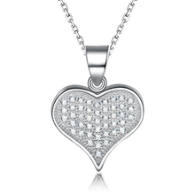 Hot Sales Wholesales Customized Heart Diamond love necklace