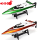 Hot Sale 30km/h RC Boat Feilun FT009 2.4G 4CH Water Cooling System Self-righting High Speed Racing RC Boat