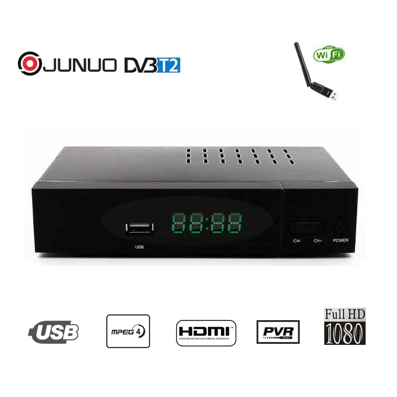 High Definition and FTA universal digital DVB-T2 tv receiver