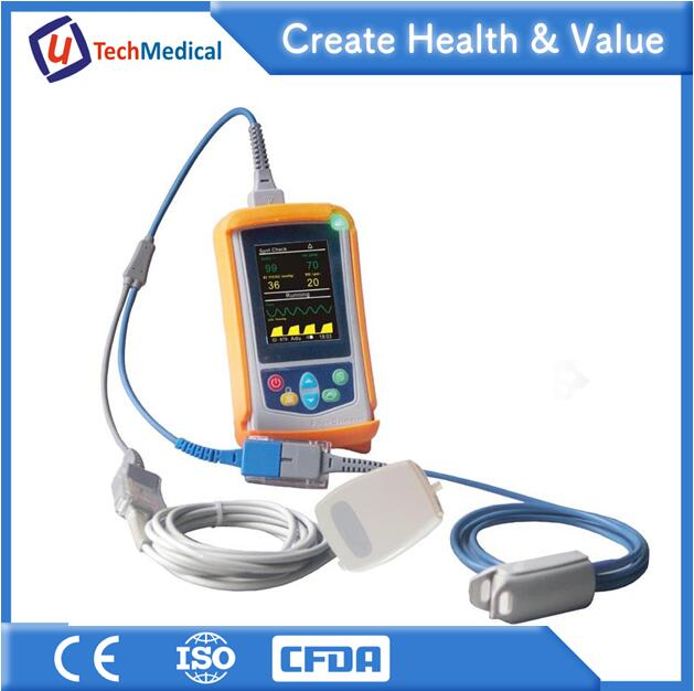 UT100C Handheld ETCO2 Capnography Monitor with Mainstream and Sidestream CO2 Sensor