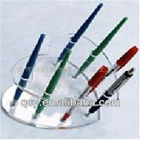 Wholesale Logo Engraved Crystal Office Pen Holder For Promotional Items
