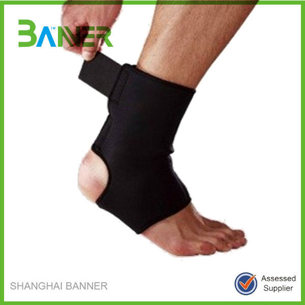 Healthy Sports neoprene waterproof colored elastic ankle support