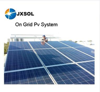 new energy solar panel 5kw on grid home solar system