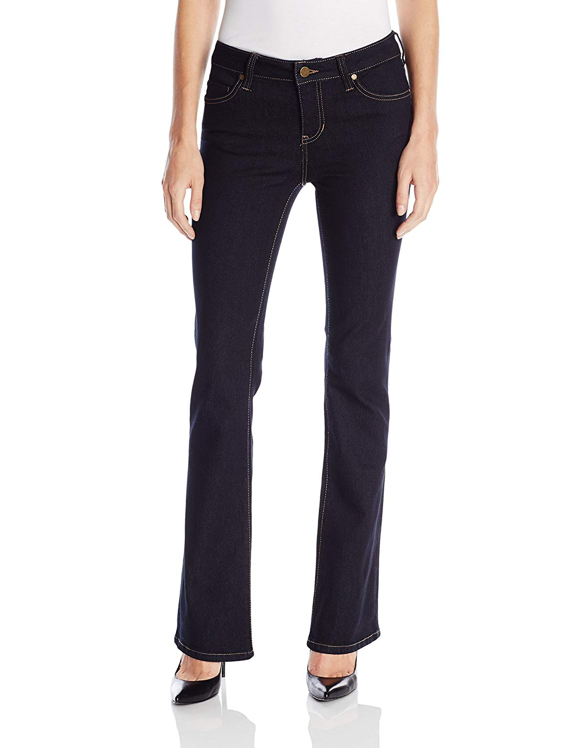 Liverpool Jeans Company Women's Liverpool Lucy Bootcut 5 Pocket Mid Rise Denim Jean