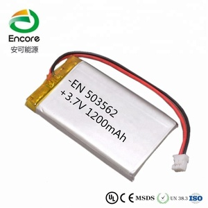 503562 3.7V 1200Mah Lithium Polymer battery,Lipo battery for LED lighting product