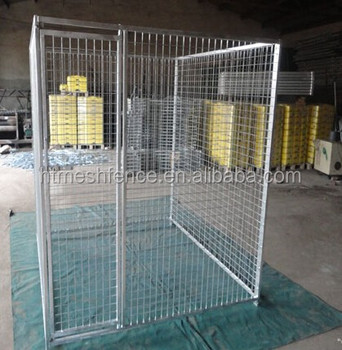 Metal Welded Chain Link Wire Outdoor Dog Kennels Dog Cages