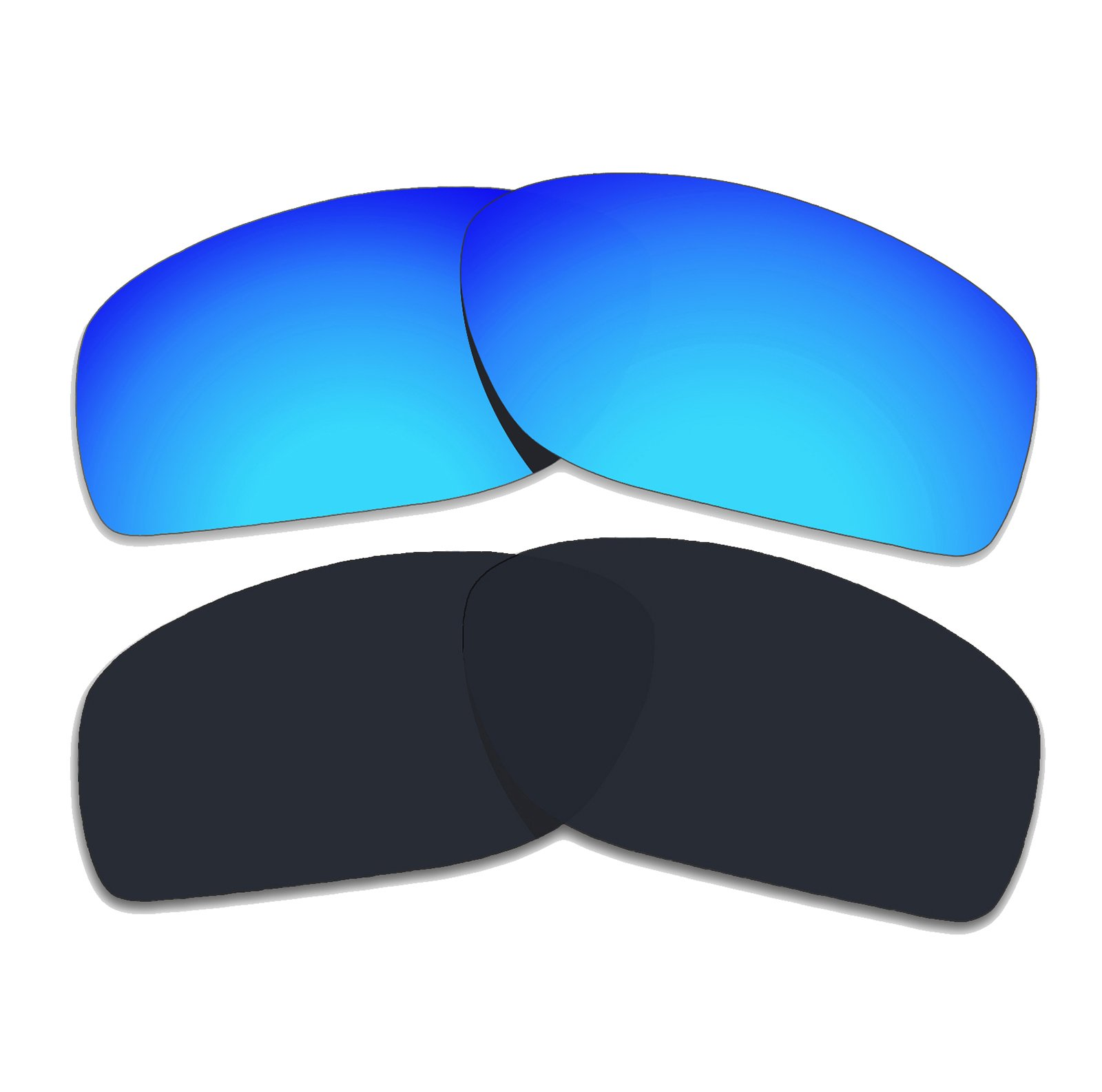 60a29a1a255 COLOR STAY LENSES 2.0mm Thickness Polarized Replacement Lenses for Oakley  Cohort OO9301 Sunglasses Titanium Mirror Coatings