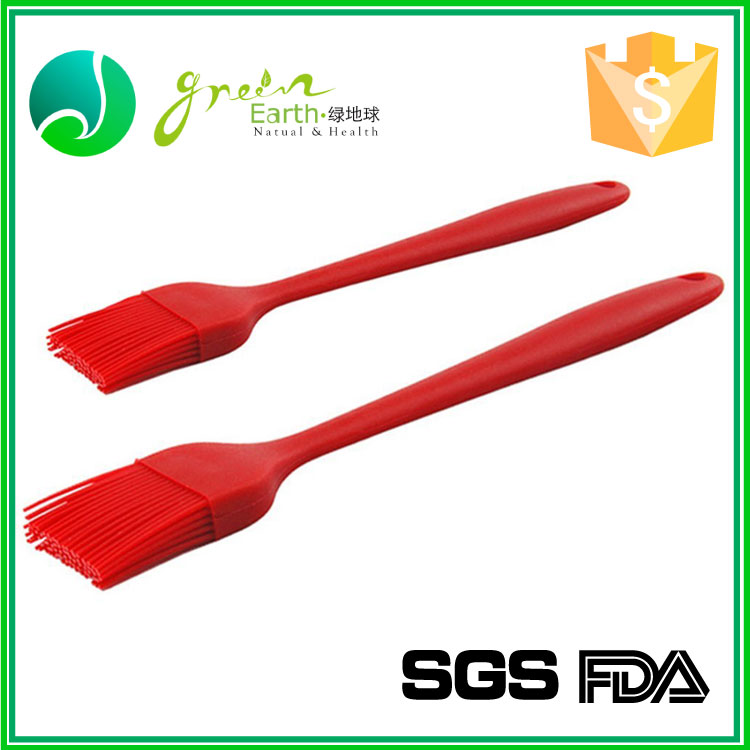 Wholesale household cleaning oven oil mascara pastry brush bbq grill silicone basting brush