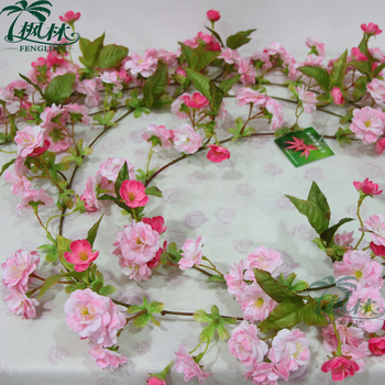 170cm silk cherry blossom flower garland wholesale artificial flower 170cm silk cherry blossom flower garland wholesale artificial flower vine on promotion mightylinksfo