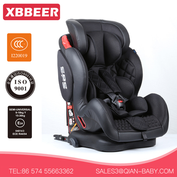 Baby Car Seat China For Group 1 2 3 With ISOFIX Seats