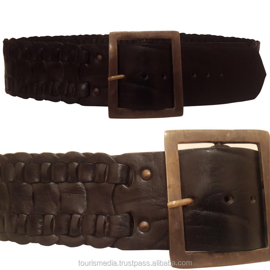 Handmade Moroccan leather belt Style 0020