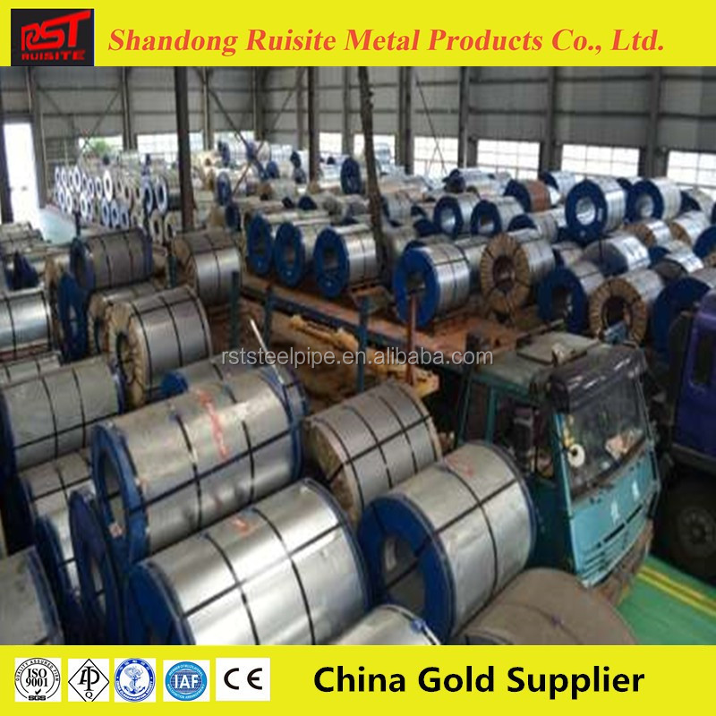 Zinc Coated 316l stainless steel coil /galvanized steel coil