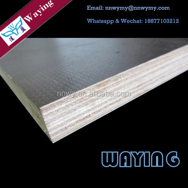Hot Press Waterproofing Black Laminate Filmed Marine Plywood For Malaysian Plywood Wholesale Market