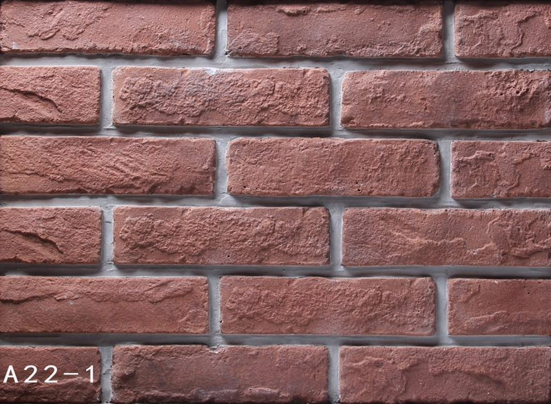Antique Clay Brick Prices, Clay Brick Size 205x55x12mm For Exterior and Interior Wall Decoration