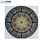 Digital Printing Tempered Colored Glass Sheet for Decoration